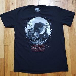 Star Wars Large T-Shirt The Last Jedi